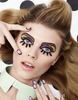 Maryna Linchuk by Lacey for Vogue Japan March 2013 - Andrew Gallimore, Beth Fenton - bellattitude.fr