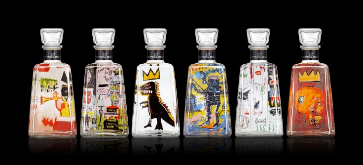 Jean-Michel Basquiat x 1800 Tequila Limited-Edition Bottles - 1800tequila.com