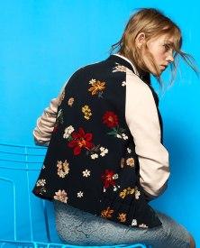 Bomber à fleurs Zara - zara.com