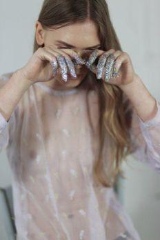 Opaque Glitter - Marina Haiduk by Tanya Olifirenko - studio903.tumblr.com