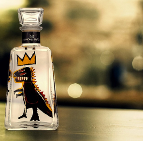 Jean-Michel Basquiat x 1800 Tequila Limited-Edition Bottles - Instagram officiel @1800tequila