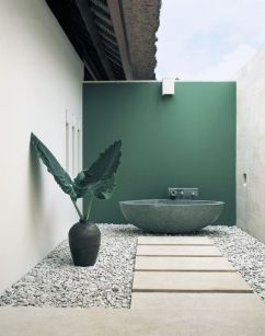 Greeg marble bathroom outdoor - pinterest.com