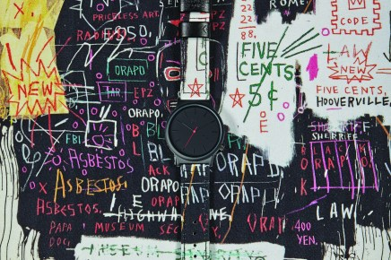 Jean Michel Basquiat x KOMONO Watches - manofmany.com