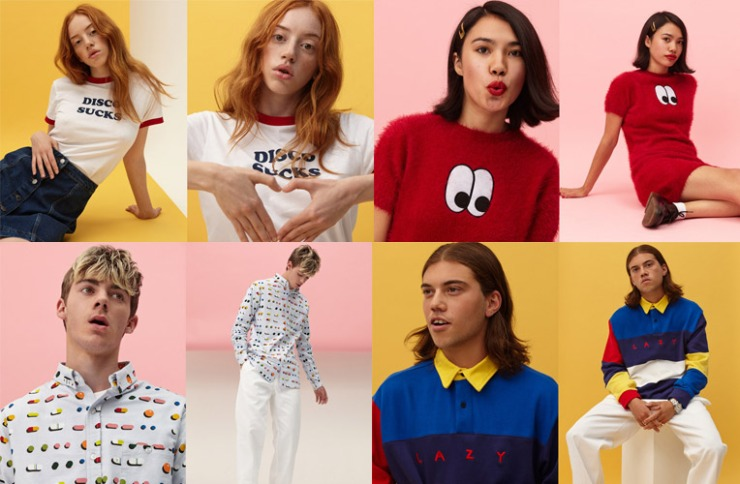 Lazy Oaf Winter' 15 Lookbook - lazyoaf.com