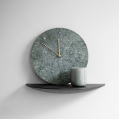 Marble Wall Clock By Norm Architects, from Menu A:S - yliving.com