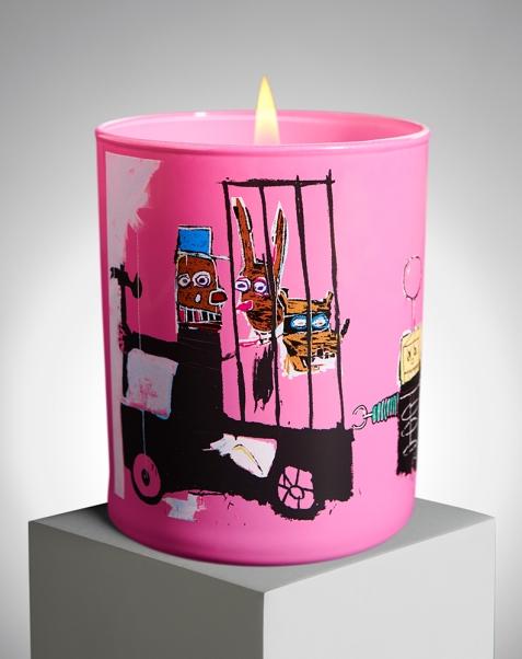 Bougie parfumée Jean-Michel Basquiat x Ligne Blanche Paris - ligneblancheparis.com