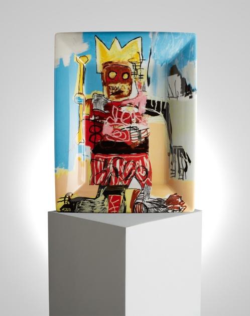 Vide poche Jean-Michel Basquiat x Ligne Blanche Paris - ligneblancheparis.com