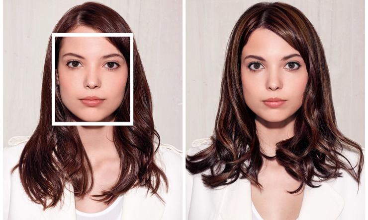 VISAGE CARRÉ / ROND - Avant et après - 2girls1mag.com