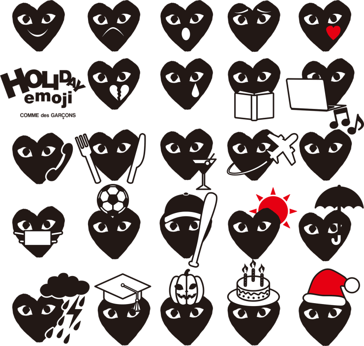 Comme des Garçons - Emoji - ginza.doverstreetmarket.com