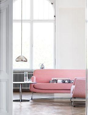Dusty pink sofa - 79ideas.org