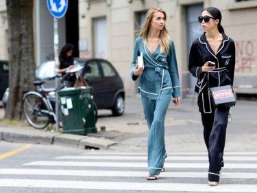 Pyjama - Street style - elle.fr