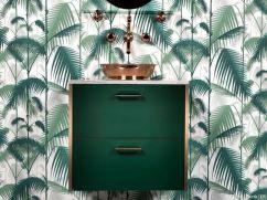 Façades vert sapin chanté cuivre, 330 €, Bocklip - maisoncreative.com