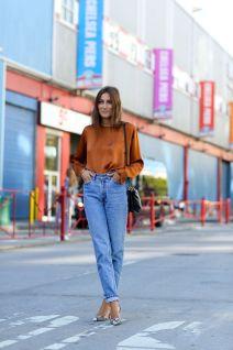 Fashion week NY Giorgia Tordini - Source IMAXTREE / vincenzo grillo - popsugar.fr