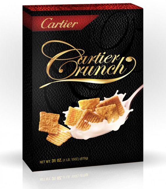 Cartier Crunch - by Tricia Clark STONE - w3sh.com