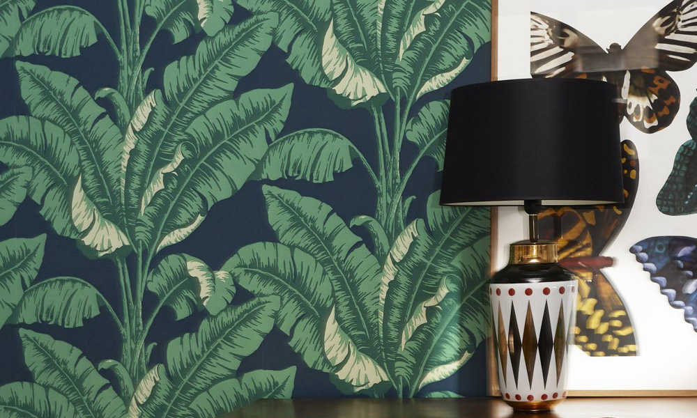 papier peint exotique l onore terzian. Black Bedroom Furniture Sets. Home Design Ideas