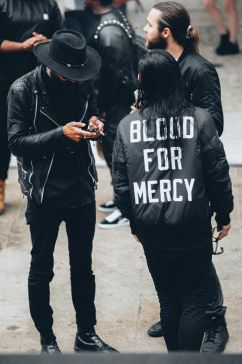 Blood for Mercy - Bomber jacket YCxDP - pinterest.com