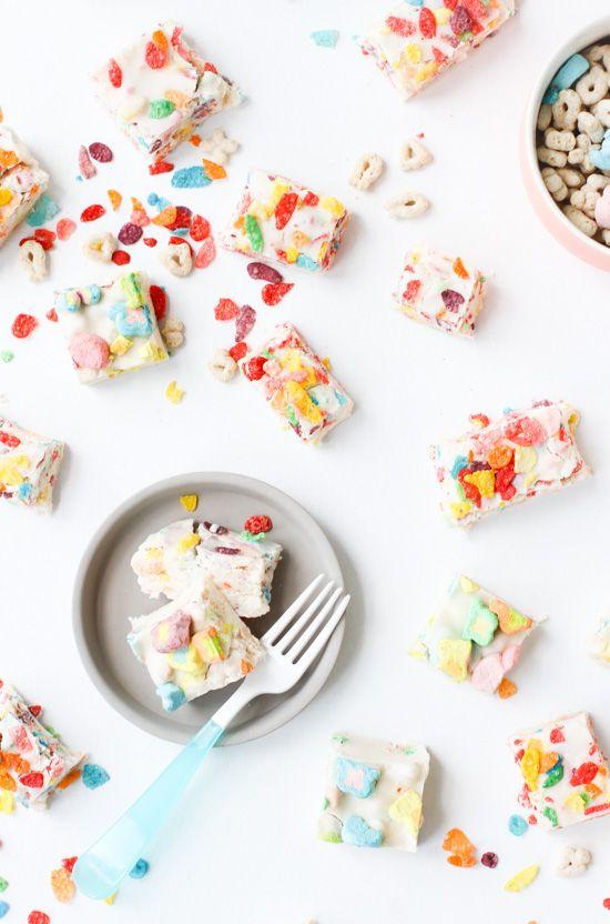Breakfast Cereal Fudge - Pinterest Inspiration - pinterest.com