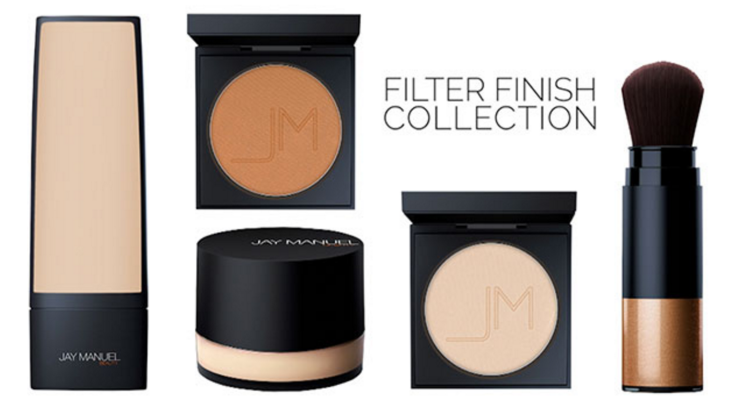 Jay Manuel Beauty - Filter Finish Collection - destinationiman.com