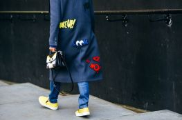 Mira Mikati coat - Street style - urbancontest.com