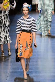 Défilé Dolce & Gabbana Printemps-Eté 2016 - marieclaire.fr