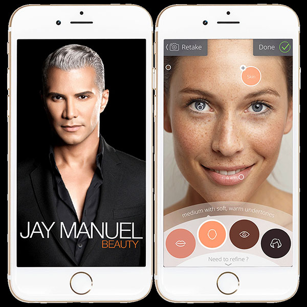 Jay Manuel Beauty - Filter Finish Collection - Application - destinationiman.com