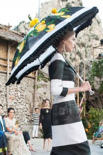Dolce & Gabbana Alta Moda Autumn : Winter 2014-15 Collection Capri, Italy - telegraph.co.uk
