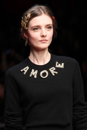Dolce & Gabbana Fall 2015 Ready-to-Wear - Marcus Tondo - vogue.com