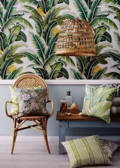 Papier peint Tropical - 100ideesdeco.marieclairemaison.com