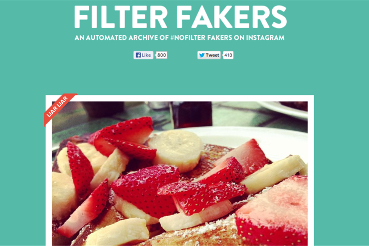 Filter Fakers - Application - filterfakers.com