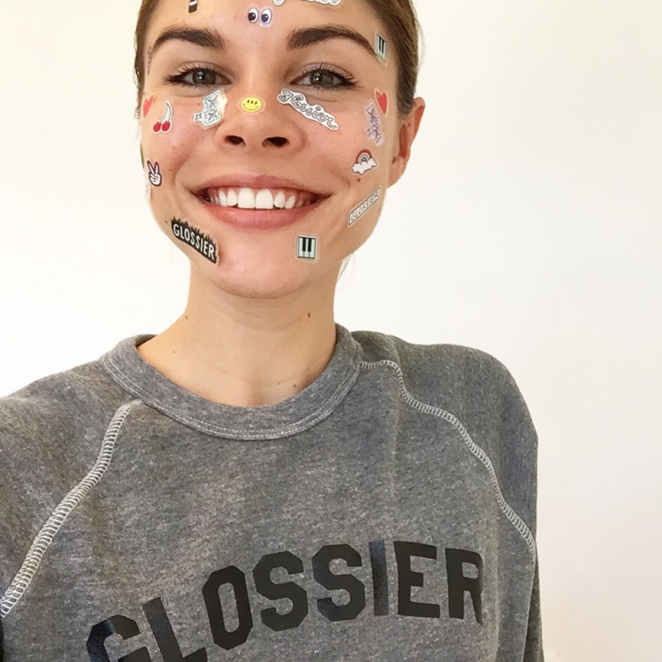 Emily Weiss - Glossier - photographed by Tom Newton - intothegloss.com