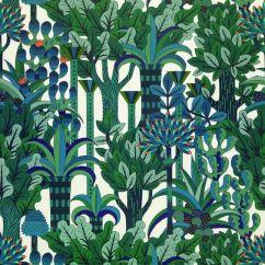 Jardin d'Osier, papier peint Hermès - louloujasmin.com