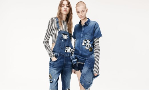 "Zara collection ""I am denim"" - zara.com"