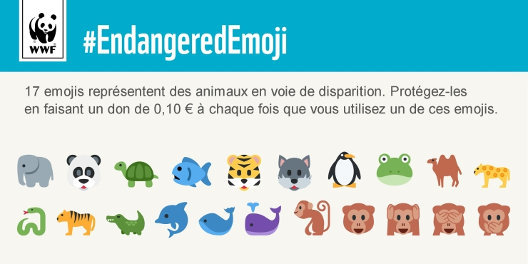 WWF Emoji - journaldugeek.com