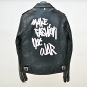 LES (ART)ISTS × SCHOTT RIDERS (MAKE FASHION NOT WAR) - glamour-online.jp