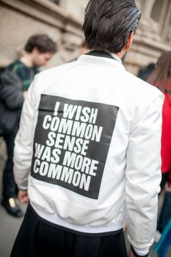 Milan Fashion Week street style. [Photo by Kuba Dabrowski] - wwd.com