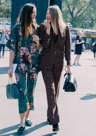 Street style - Pyjama - vogue.fr