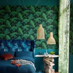 Papier peint Tropical Palm Jungle - aufildescouleurs.com