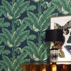 Papier peint tropical - Nobilis Photo - Marie Claire Maison - marieclairemaison.com