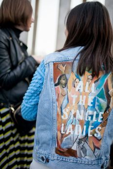 Paris Fashion Week Street Style [Photo by Kuba Dabrowski] - wwd.com