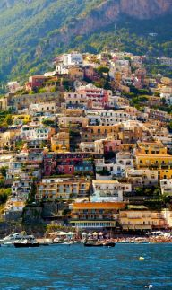 Beautiful Positano ~ Amalfi Coast, Italy -- Copyright: Francesco R. Iacomino / via shutterstock - amongraf.ro