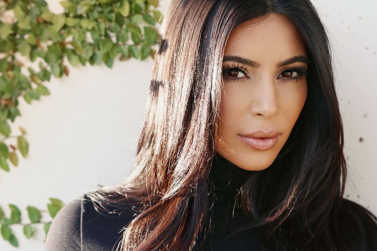 Kim Kardashian photographed by Emily Weiss in Los Angeles - intothegloss.com