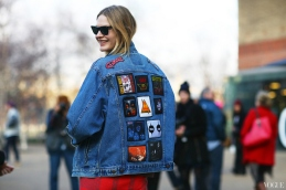London -Fashion - Week - Streetstyle - Denim - jacket - newlookblog.com