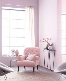Fauteuil rose pastel - schoener-wohnen.de
