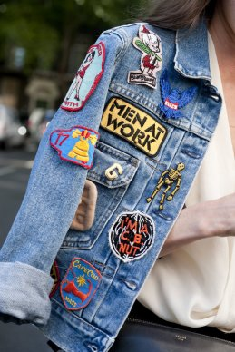 Patched up denim - cosmopolitan.fr