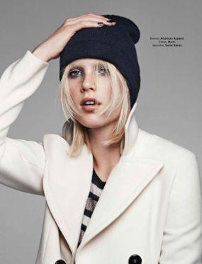 Mariteam Charlene Hogger for Glamour France December 2015 - fashionmodeldirectory.com