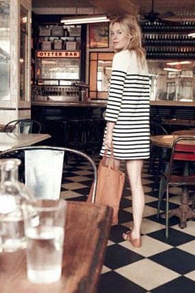 Sezane & Madewell - Camille Rowe model - lofficielmode.com