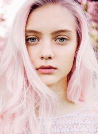 amazing pastel pink lip hair pastel lipstick pastel pink hair-f05199 - bardotstylefile.com.au
