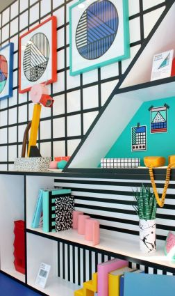 Camille Walala at Aria – The Memphis trend - littlebigbell.com