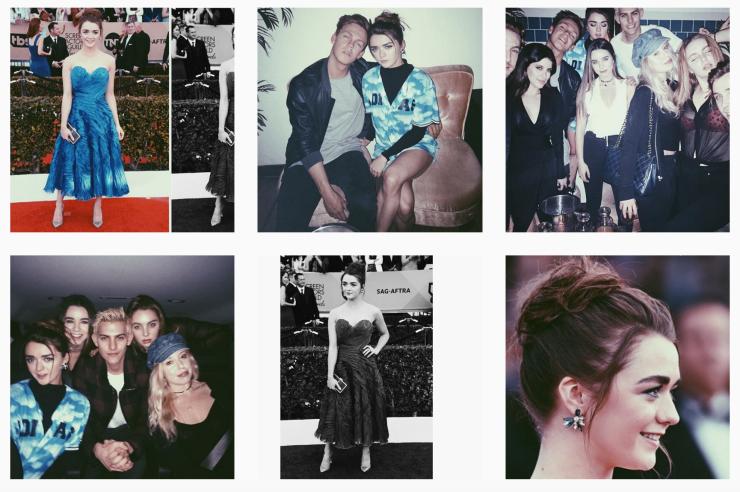 Instagram @maisie_williams