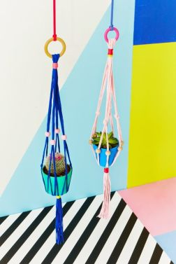 Charlotte Love - interior stylist and set designer - color pop series with still-life photographer Joanna Henderson for Heart Magazine - trendland.com